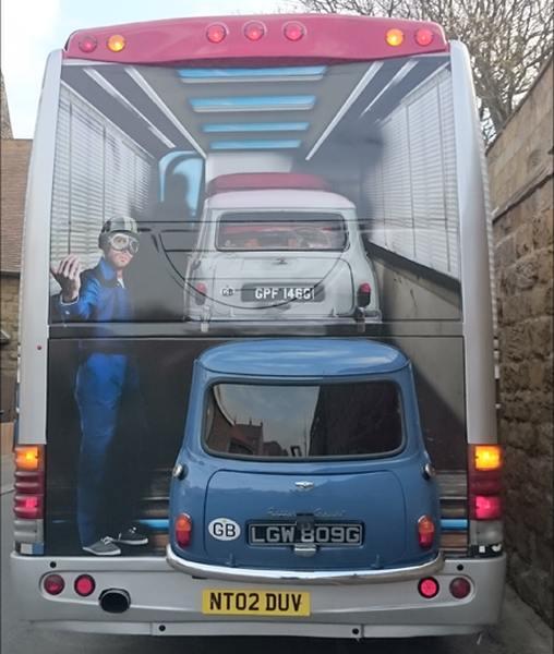 Italian job bus rear