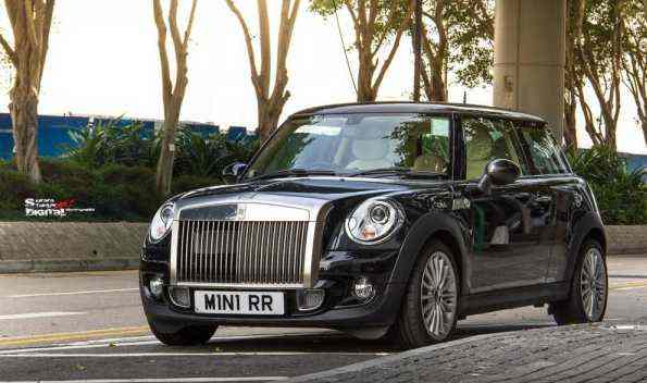 MINI Rolls Royce